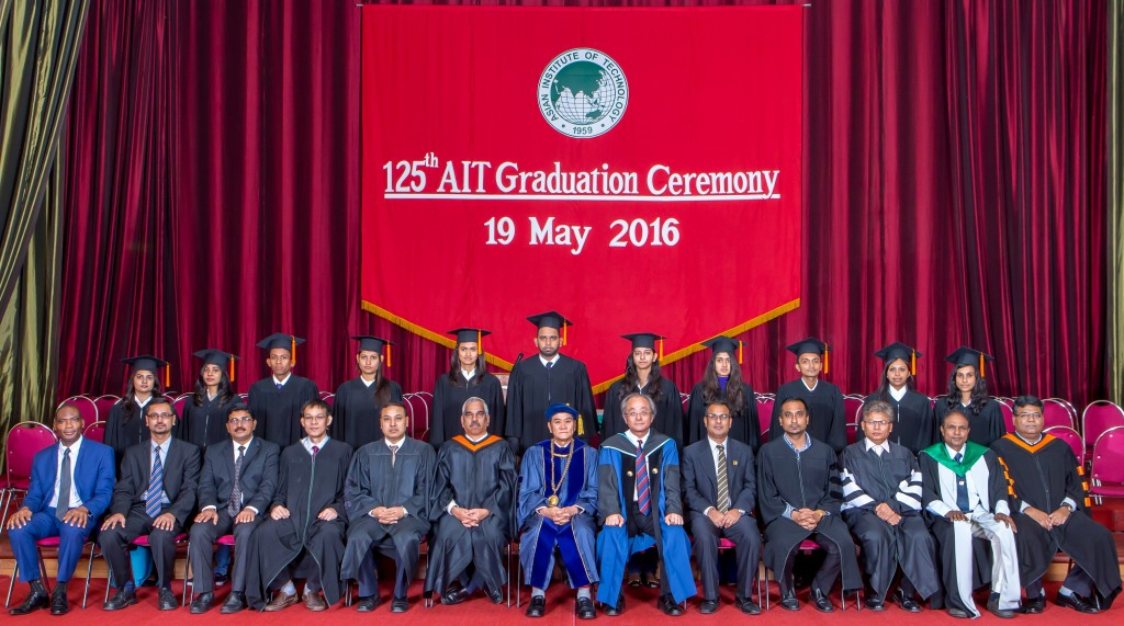 """First batch of 11 under graduate students graduated from SERD on 19 May, 2016.."""