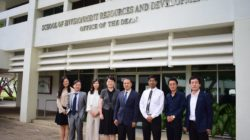 Delegation from NCEPU, China visited the School of Environment, Resources and Development