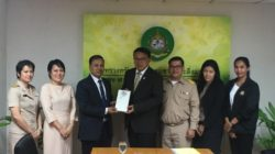 Dean SERD visited the Ministry of Natural Resources and Environment of Thailand