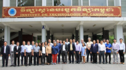 Group photo of MONTUS project partners, 2nd workshop, ITC, Phnom Penh, Cambodia
