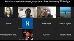 An Interactive zoom session with international students: career prospects in AIT