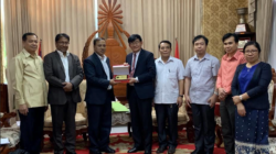 Visit to Mekong River Commission and National University of Laos