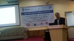 Dean SERD delivers a keynote at International Conference on Natural Resources in Kathmandu