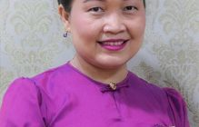 SERD alumna, Ms. May Sabe Phyu: The winner of this year's N-Peace Awards