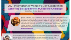 Special webinar to mark the event of International Women's Day on 8 March 2021